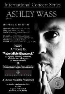 Ashley Wass Programme Flyer